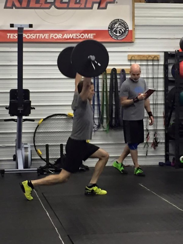 Crossfit Open 2016 launch at Cold Front Crossfit